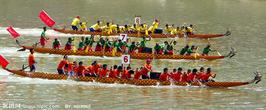 端午节龙舟竞赛摄影图