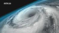 CCTV高清频道卫星拍台风眼