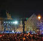马克龙在法国总统选举第二轮投票中获胜--图片...