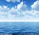 蓝天白云大海高清摄影图片- 大图网设计素材下...
