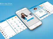 OA办公系统-Web&App|移动设备/APP界面|UI...