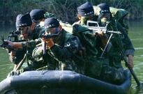 资料图:中国海军精锐蛙人部队